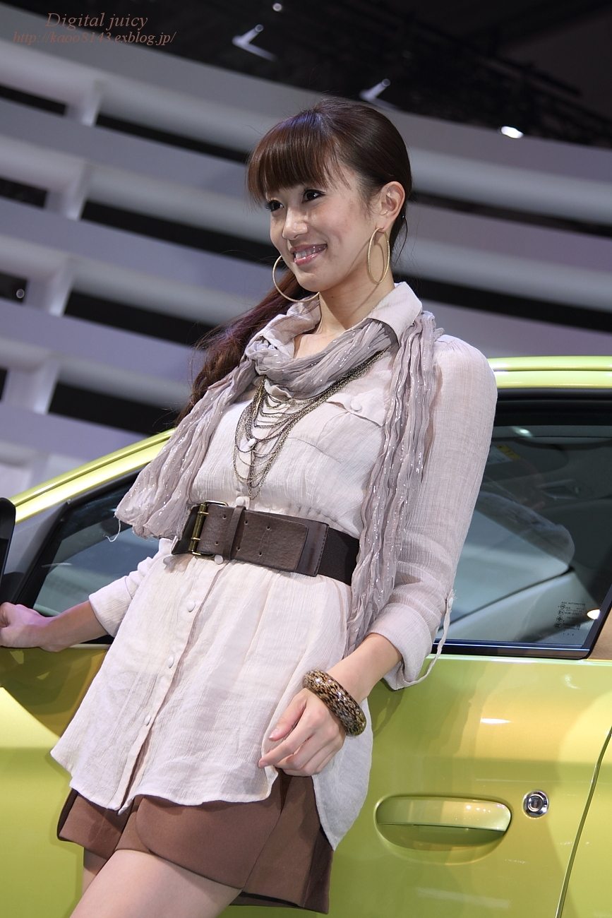 青依 さん(三菱自動車工業株式会社 ブース)_c0216181_2284222.jpg