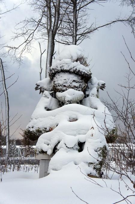 雪のテラコッタガール_f0160407_58332.jpg