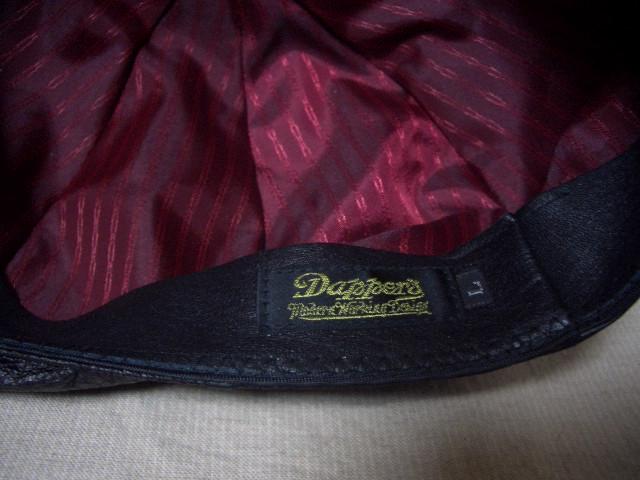 Dapper\'s Leather Casquette LOT886 入荷!_c0144020_1320588.jpg