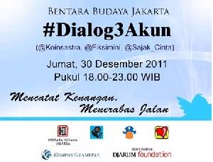 インドネシア文学の集い:#DIALOG3AKUN - Mencatat Kenangan, Menerabas Jalan@ジャカルタ_a0054926_11223516.jpg