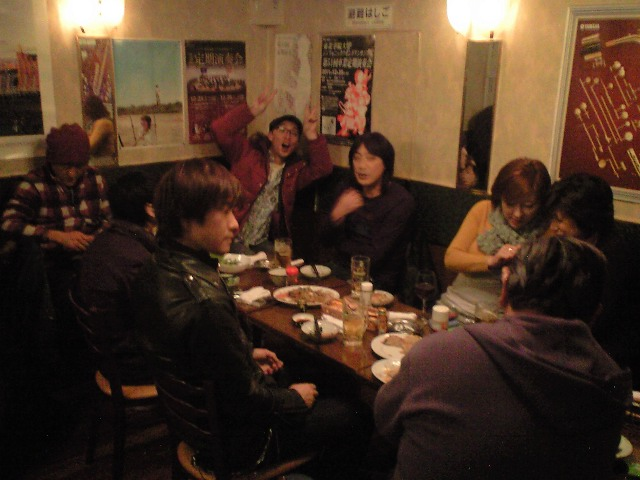 12月28日(水)「BBQ」~「THE70 KINGS & ザ☆クリッパーズ」忘年会_b0206845_1633092.jpg