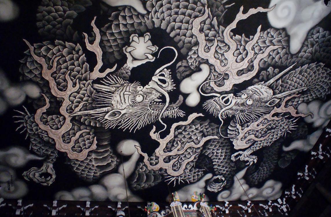 京都最古の禅寺、建仁寺で龍に ... : 午年 イラスト : イラスト