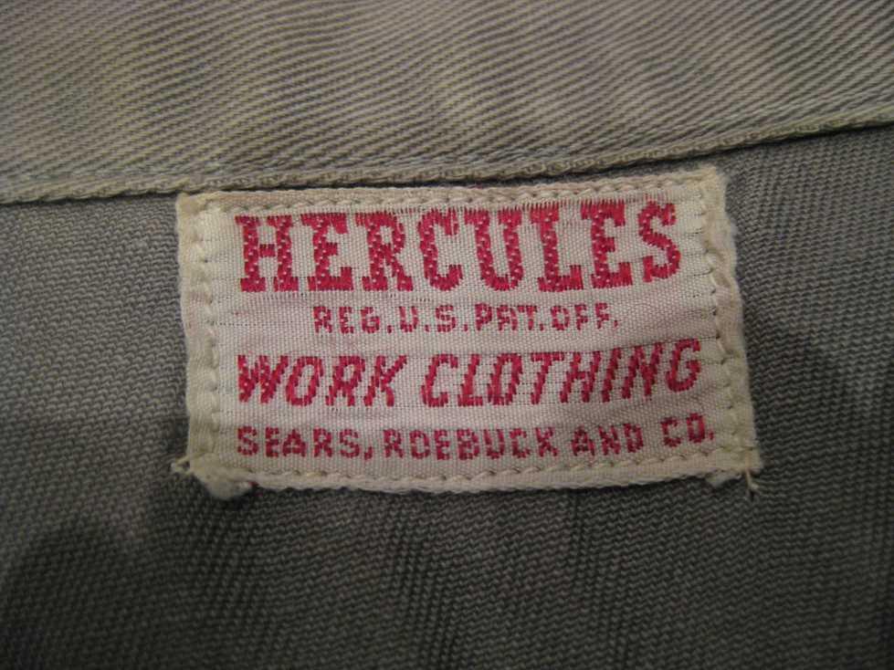 50\'s HERCULES WORK SHIRTS +_e0187362_15562013.jpg