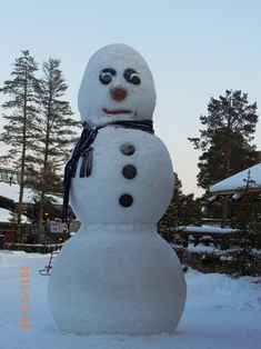 Finland フィンランドの雪だるま_e0195766_512512.jpg