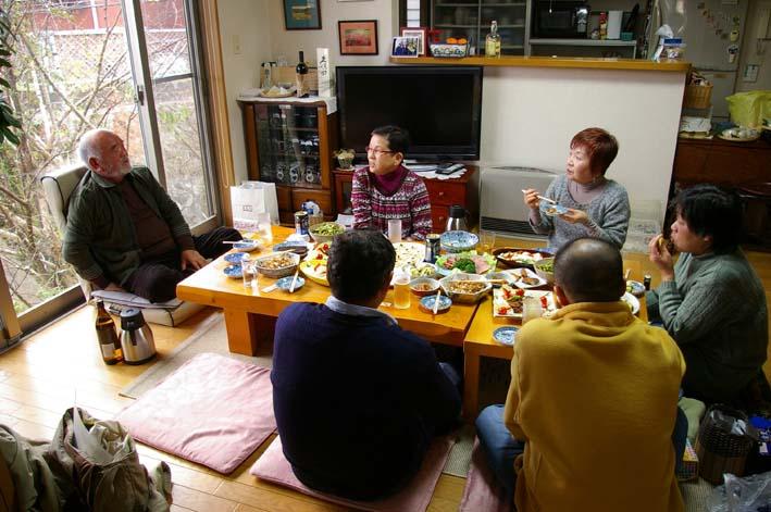 カッちゃん(里山インストラククター)宅で忘年会:12・25_c0014967_11271328.jpg