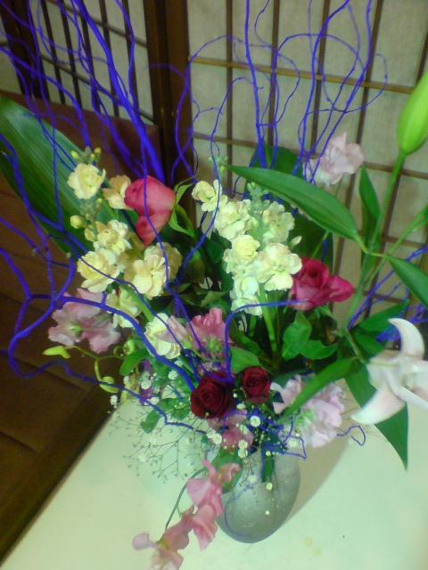 お正月の準備、新年のお花。_d0182179_2141060.jpg