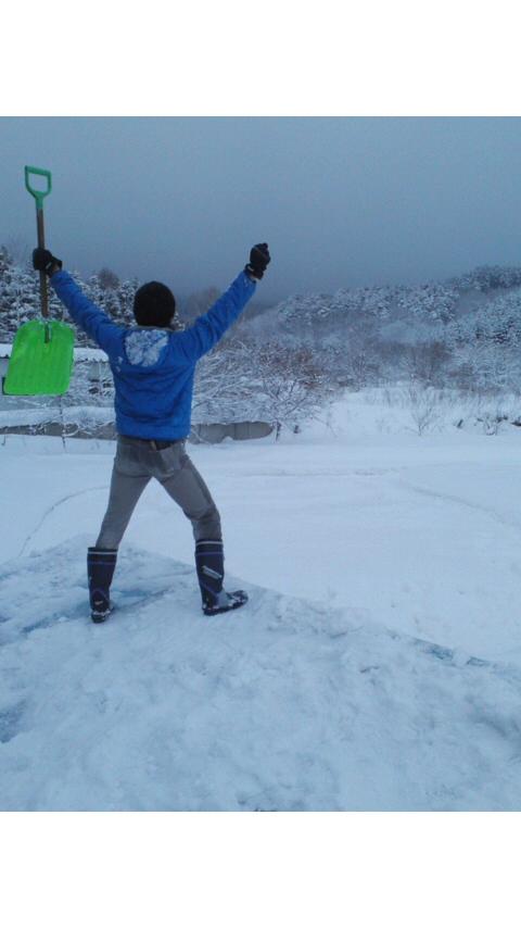 雪下ろし_e0186499_16572860.jpg