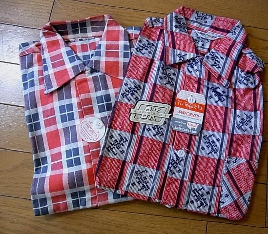 2012年1月2日入荷商品!50'S プリントネル デッドストック#1_c0144020_11251633.jpg