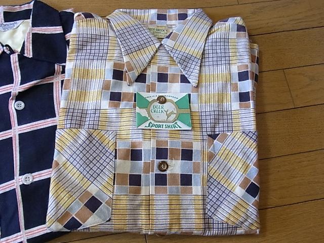 2012年1月2日入荷商品!50'S プリントネル デッドストック#2_c0144020_1128039.jpg