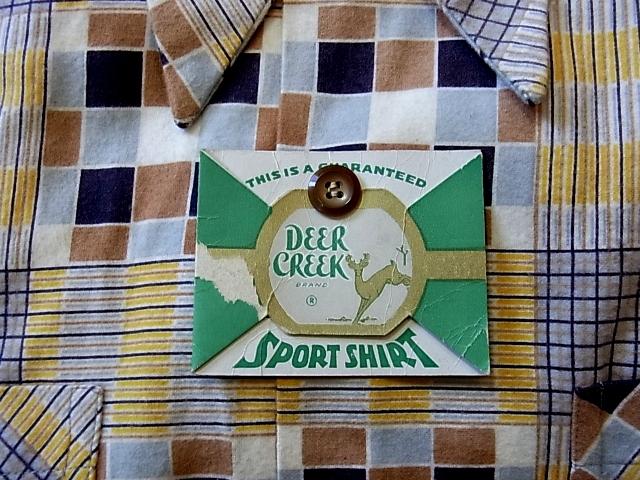 2012年1月2日入荷商品!50'S プリントネル デッドストック#2_c0144020_1128373.jpg