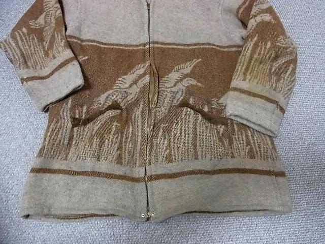 2012年1月2日入荷商品!30\'S L.L BEAN ハトメ付 WOOL ブランケットJKT!_c0144020_1141665.jpg