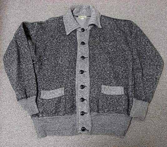 2012年1月2日入荷商品!40-50'S ごま塩カーディガン 襟付き!_c0144020_1149042.jpg