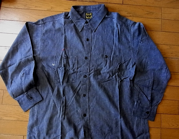ブラックシャンブレーシャツ!_c0144020_1154272.jpg