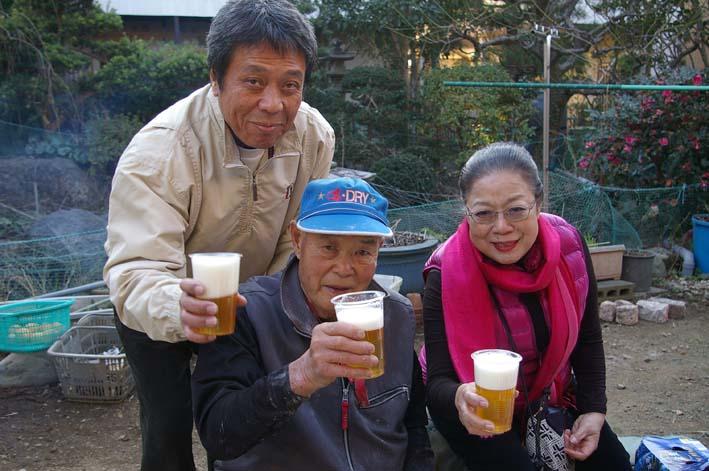 若林伝吉邸での餅つきと「新北鎌倉の恵み」の試飲②試飲_c0014967_21232062.jpg