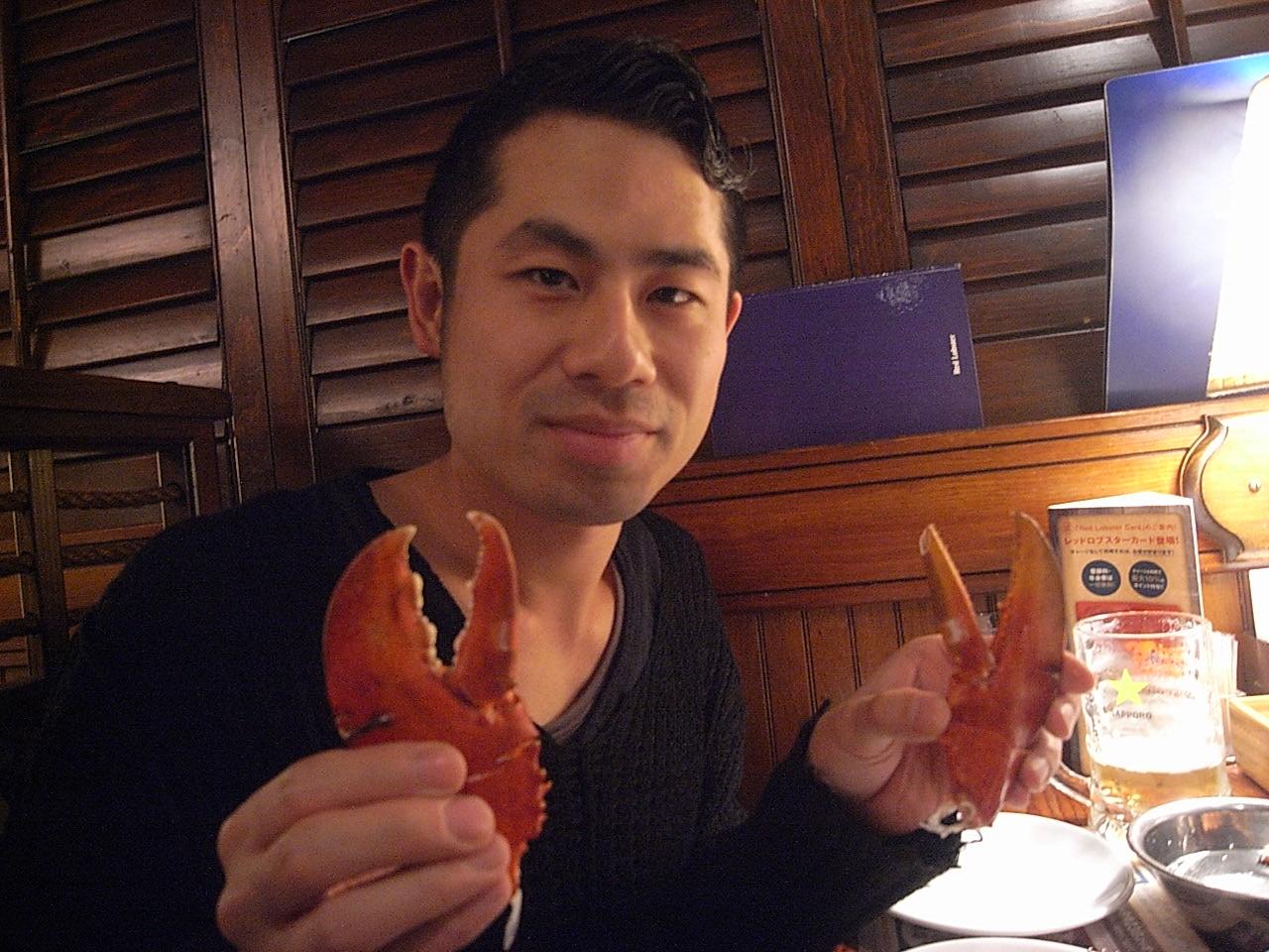 ロブスターを食べに!_e0230090_0324669.jpg