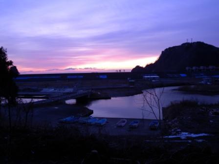 小本漁港の夜明け(元旦特集1)_b0206037_9482913.jpg