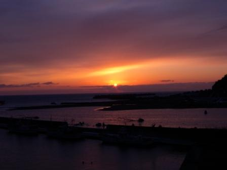 小本漁港の夜明け(元旦特集1)_b0206037_9514484.jpg