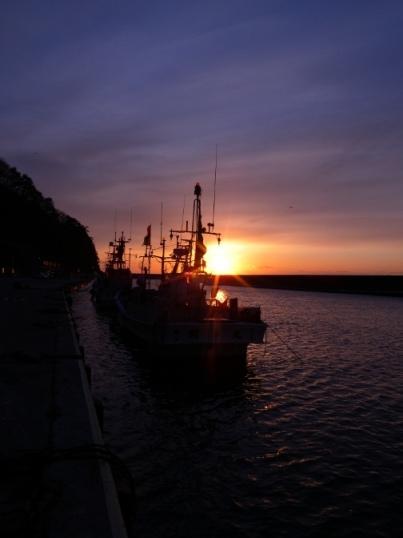 小本漁港の夜明け(元旦特集1)_b0206037_9555049.jpg
