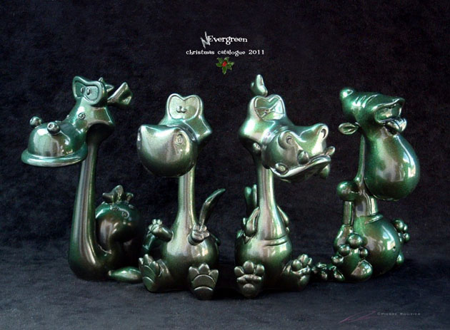 4 piece/nevergreen colorway resin character collection_e0118156_1143573.jpg