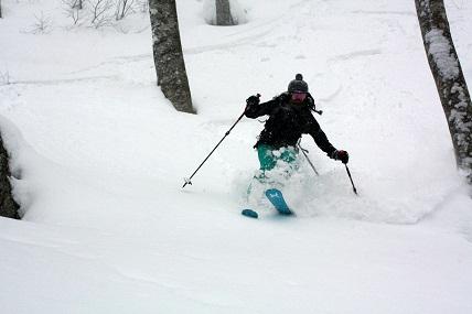 山スキー@谷川天神平~大穴_a0150951_1552544.jpg