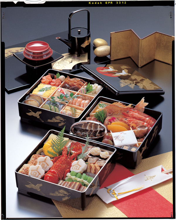 The Japanese New Year / Osechi & Jyubako made by Wajima nuri / Japanese urushi lacquer_a0118453_17375886.jpg