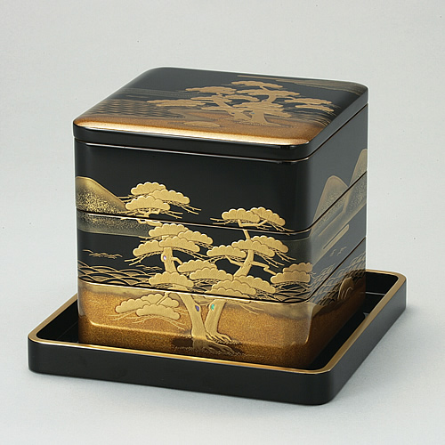 The Japanese New Year / Osechi & Jyubako made by Wajima nuri / Japanese urushi lacquer_a0118453_1739763.jpg