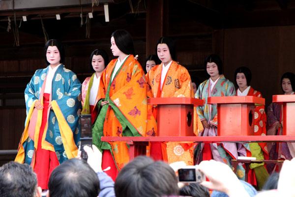 かるた始め 八坂神社_e0048413_19515928.jpg