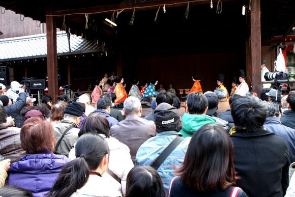かるた始め 八坂神社_e0048413_19523710.jpg