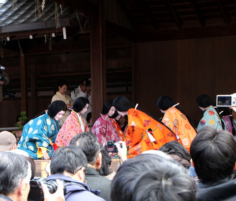 かるた始め 八坂神社_e0048413_19531698.jpg