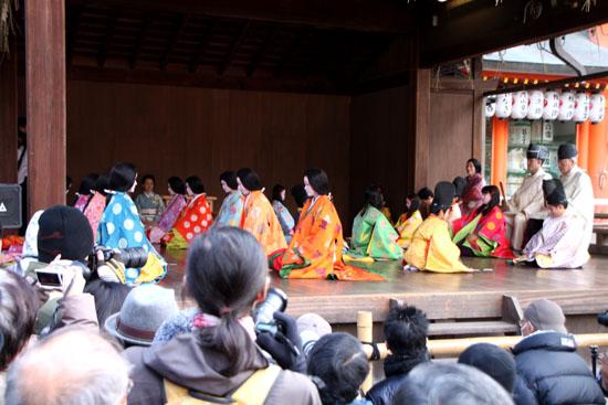 かるた始め 八坂神社_e0048413_1953344.jpg