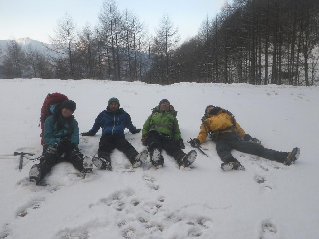 正月山行は塩見岳_b0133032_13541676.jpg