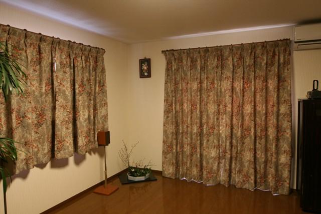 2011年12月25日   カーテンとりつけ _f0229190_153173.jpg
