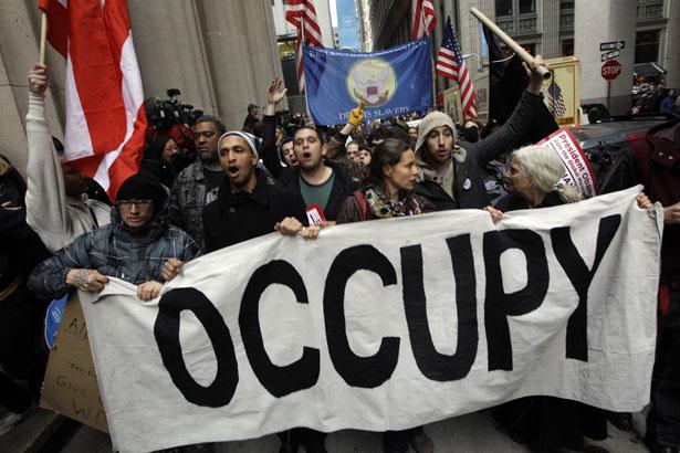 翻訳:ウォール街を占拠せよ - 2011年:革命の年 [1/2] : aliquis ex vobis