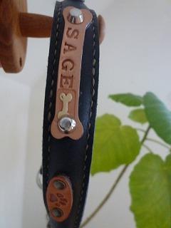 dog goods   オーダーメイドのカラー&リード♪_a0165160_556884.jpg