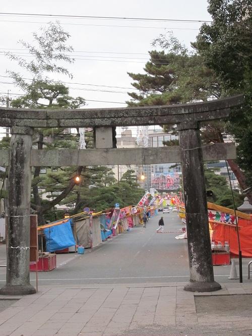 早朝の藤崎八幡宮で初詣_b0228113_18313937.jpg