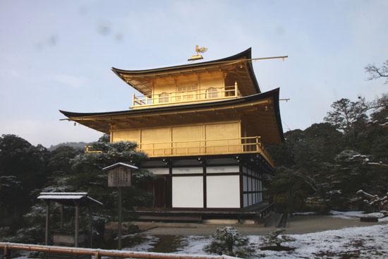 雪の金閣寺_e0048413_21443212.jpg