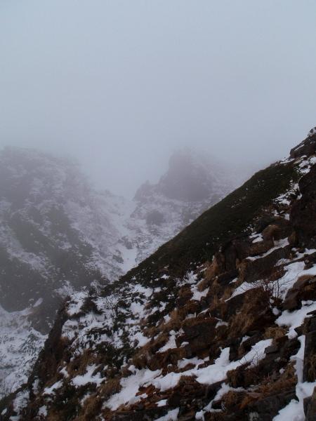 お正月登山 南八ヶ岳縦走-阿弥陀岳へ_c0177814_23312753.jpg