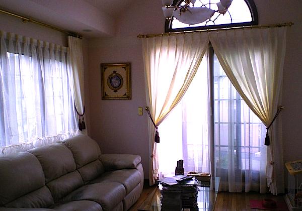 真鍮のカーテンレールのお手入れ。_c0157866_12293661.jpg
