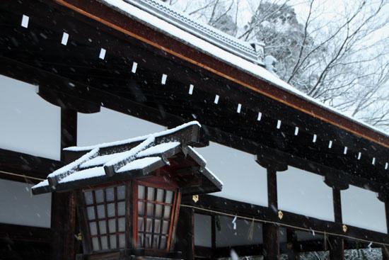 上賀茂神社 雪景色_e0048413_14581329.jpg