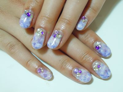 Marble Nail_a0239065_2121499.jpg