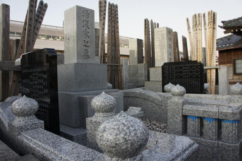 Y家様 墓所リフォーム工事~据付工事②~  2011.12.17_e0223769_20251134.jpg