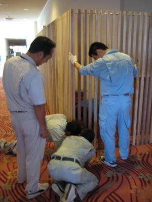 日南市内のホテルを飫肥杉化_f0138874_1624681.jpg
