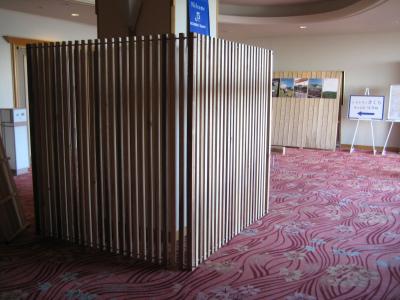 日南市内のホテルを飫肥杉化_f0138874_166049.jpg