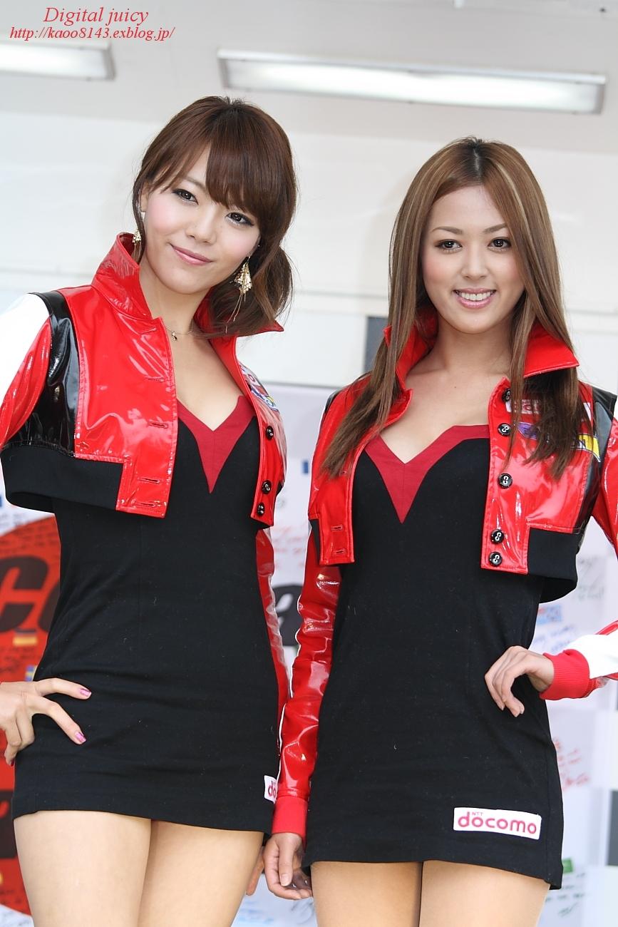 岡田ゆいな さん(DOCOMO TEAM DANDELION RACING サーキットレディ)_c0216181_116624.jpg