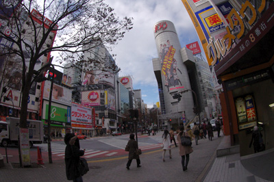 1月6日(金)今日の渋谷109前交差点_b0056983_15254244.jpg