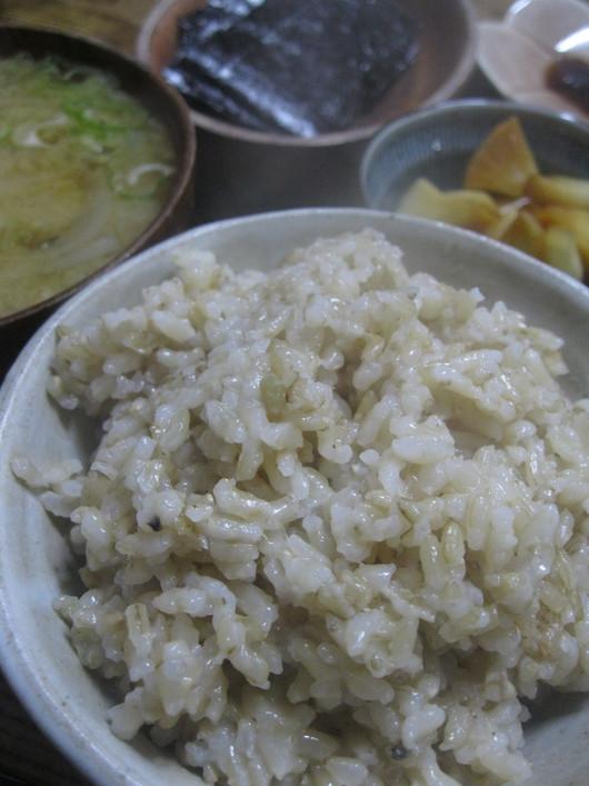 土鍋で炊く「玄米」☆_a0125419_12531963.jpg