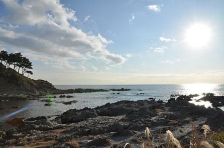 今年初めての海へ_d0102523_14152376.jpg