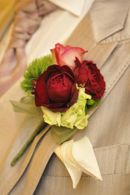 新郎新婦様からのメール 緑の中のガーネット アームレット ホテルメトロポリタンエドモント様へ_a0042928_17401042.jpg