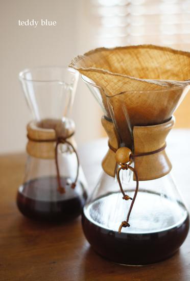 chemex  ケメックスのコーヒーメーカー_e0253364_1426585.jpg