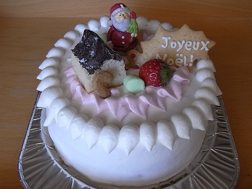 2012!and 2011クリスマスケーキ_f0183981_15153827.jpg